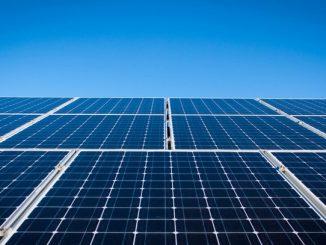Solar Park Solar panels